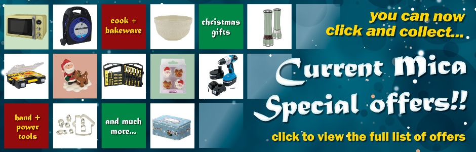October Current Mica Special Offers - Click for more