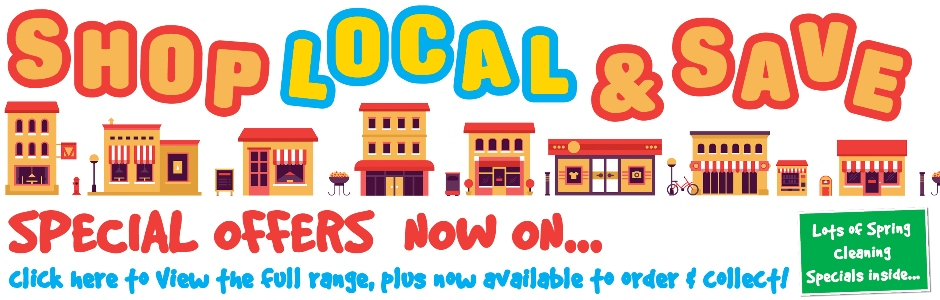 Shop Local & Save - click to view all current promotion special offers!