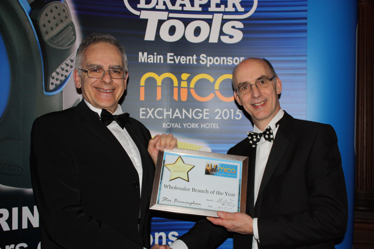 Wholesaler Branch of the Year