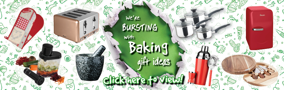 We're bursting with baking gift ideas - click here fore more!