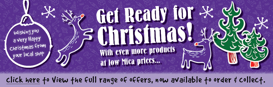 Get Ready For Christmas - Click here for our latest offers!