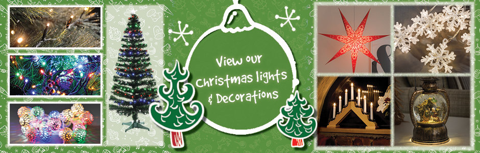 Get Ready For Christmas - Christmas Lights & Decorations!