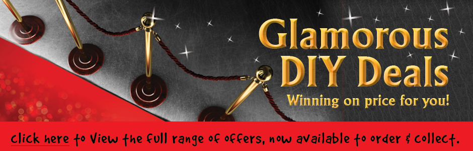 Glamorous DIY Deals - winning on price for you!