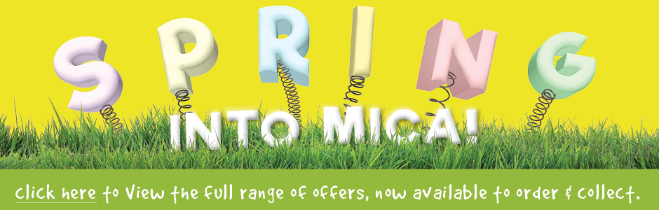 Spring Into Mica - Find great deals this Easter!