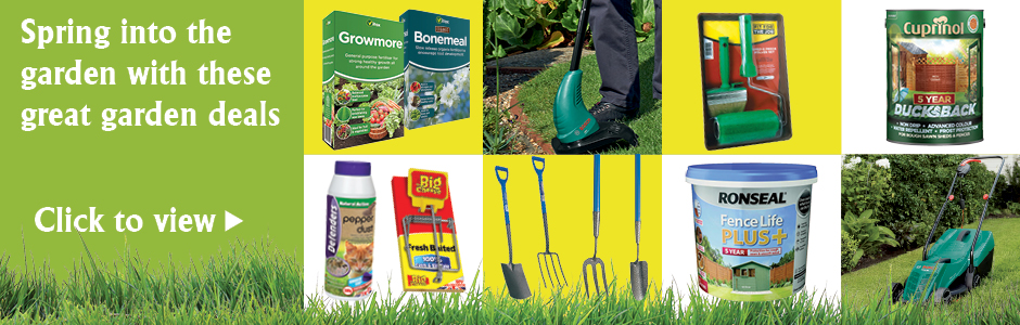 Spring into the Garden with these great garden deals