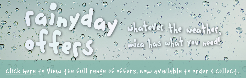 Rainy Day Offers - We've got what you need