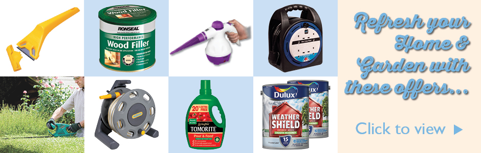 Refresh your home with these indoor & outdoor DIY offers