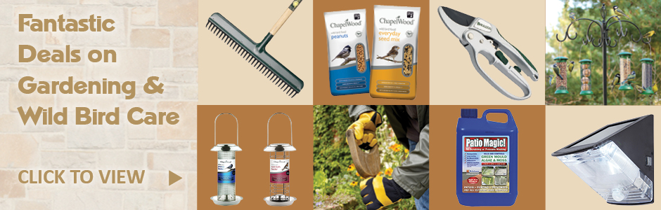 We offer real honest prices on Gardening & Wild Bird Care