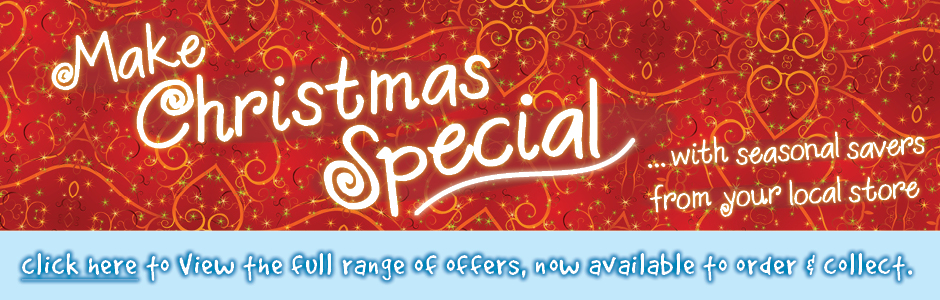 Make Christmas Special with Seasonal Savers