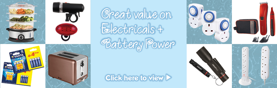 Make Christmas Special with Electricals and Battery Power