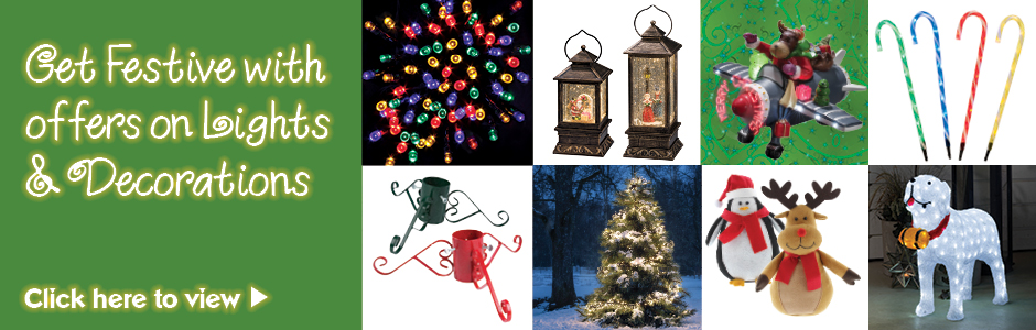 Make Christmas Special with Festive offers on Lights & Decorations