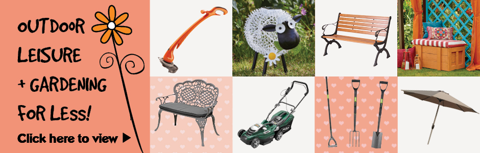 Celebrating Fayre Prices on Outdoor Leisure & Gardening