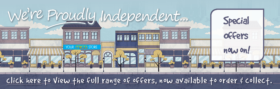 We are Proudly Independent - special offers now on!