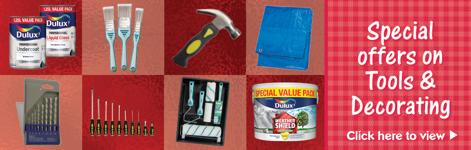 Sweet Summer Savings -on Tools & decorating