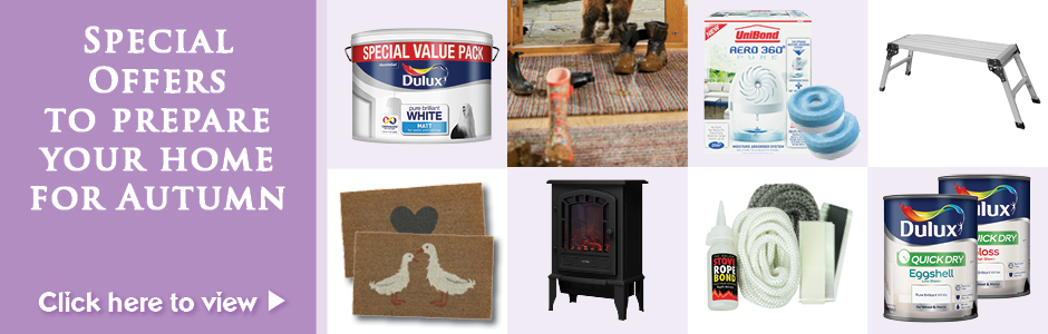 Shop Local - Get your Home Ready for Autumn