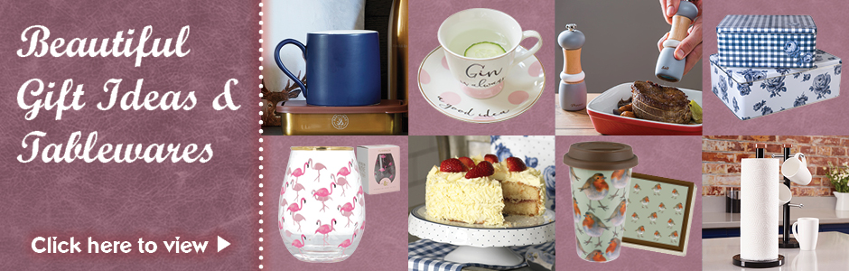 The Gorgeous Bake & Gift Guide - Gifts & Tableware