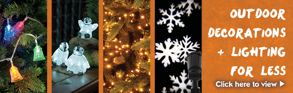 Outdoor Decorations & Lighting For Less