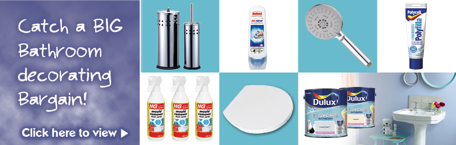 Big Summer Bargains - Bathroom
