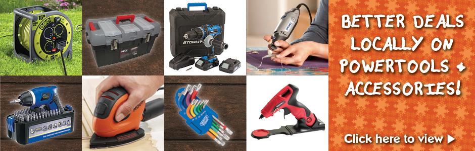 Tools Local Power tool & Accessory Deals
